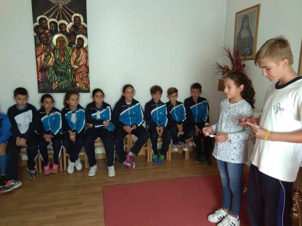 Visita de alumnos de Escolapias!