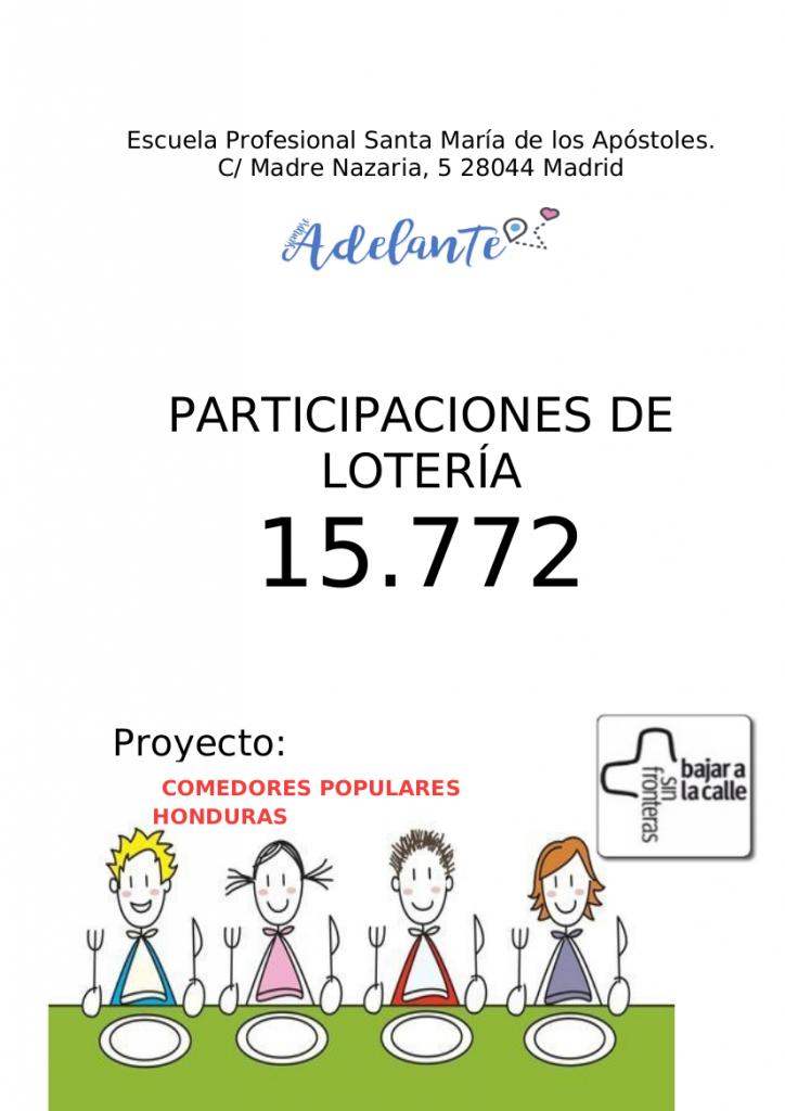 Participaciones de Lotería