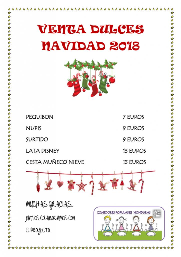 Venta de Navidad en apoyo a los niños de Honduras