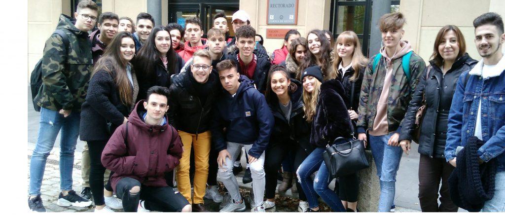 Visita a la Universidad Carlos III