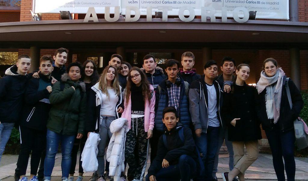 Los alumnos de 2º de Bachillerato Científico Tecnológico, visitan la Carlos III