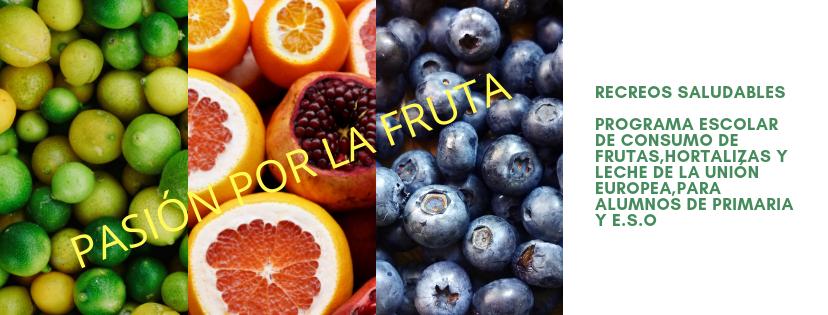 Programa escolar de consumo de frutas de la Unión Europea