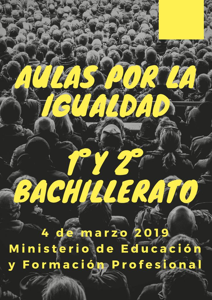 Centro elegido de la Comunidad de Madrid para participar en el acto con motivo del Día internacional de la mujer.