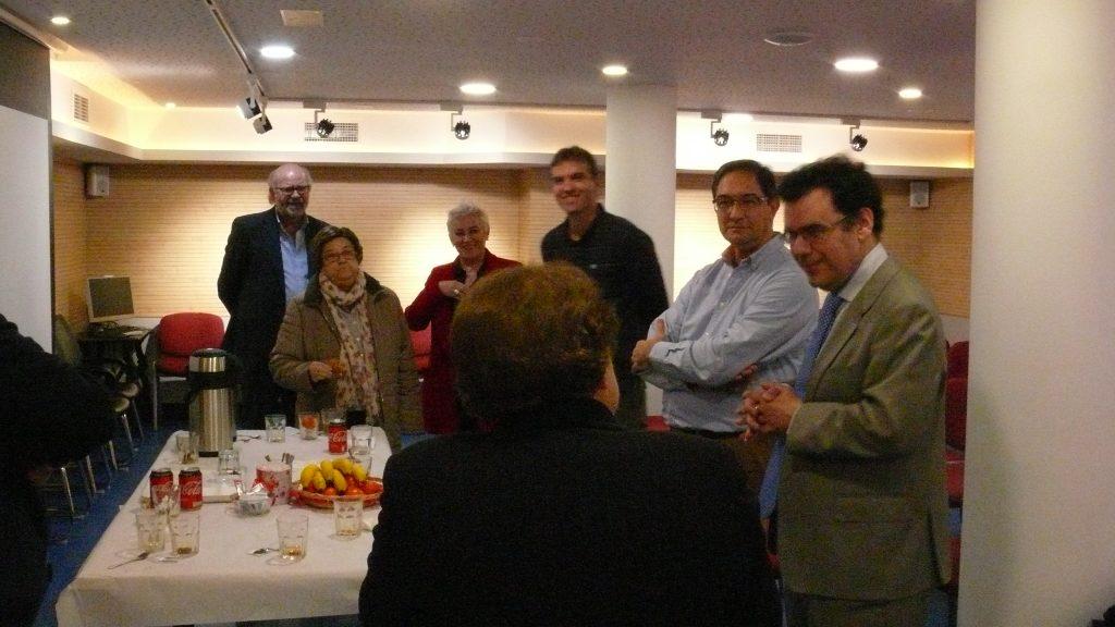 Visita de  Ismael Sanz,  Director General de Becas y Ayudas de Educación de Comunidad de Madrid