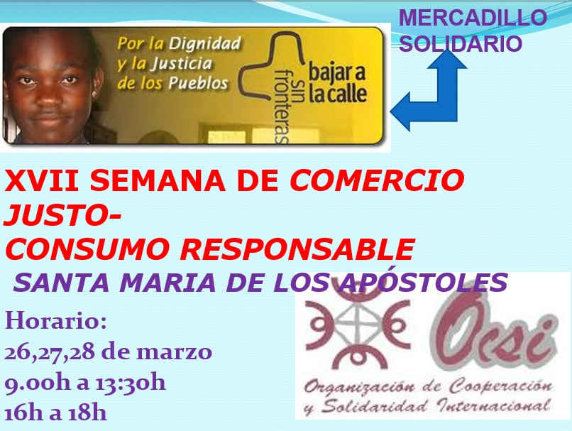 COMERCIO JUSTO y CONSUMO RESPONSABLE