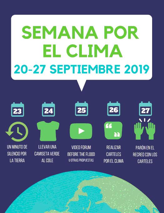 Semana por el clima