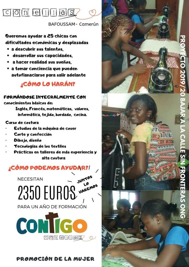"""Proyecto solidario """"CON ELLAS"""""""