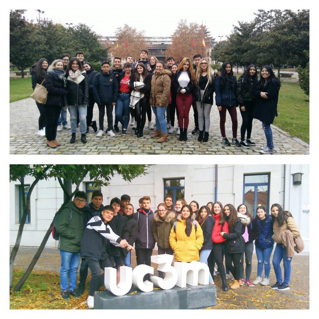 Visita a la Universidad Carlos III de Madrid